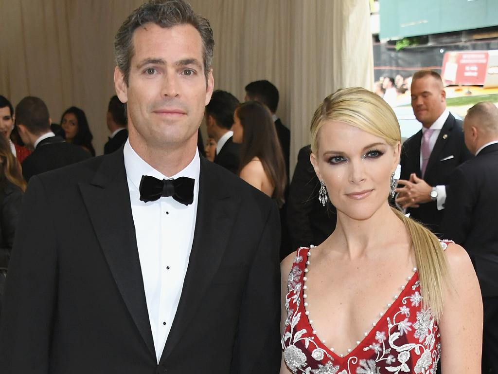 Megyn Kelly with her husband, Douglas Brunt. Picture: Getty