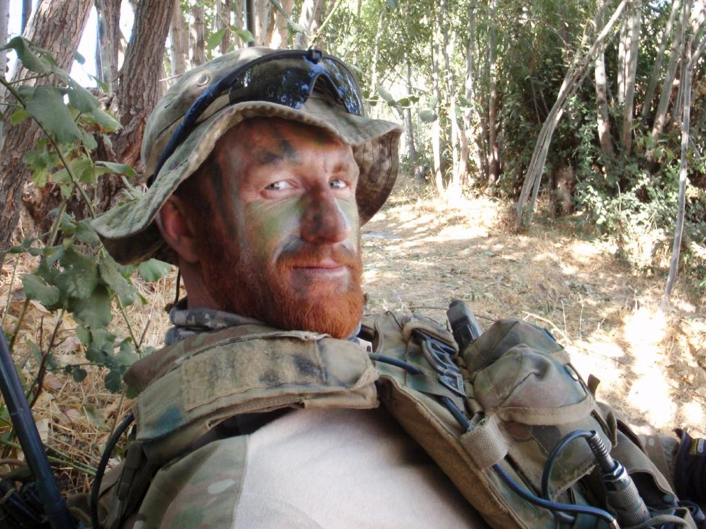 Former Special Air Service Regiment Corporal Mark Donaldson VC.