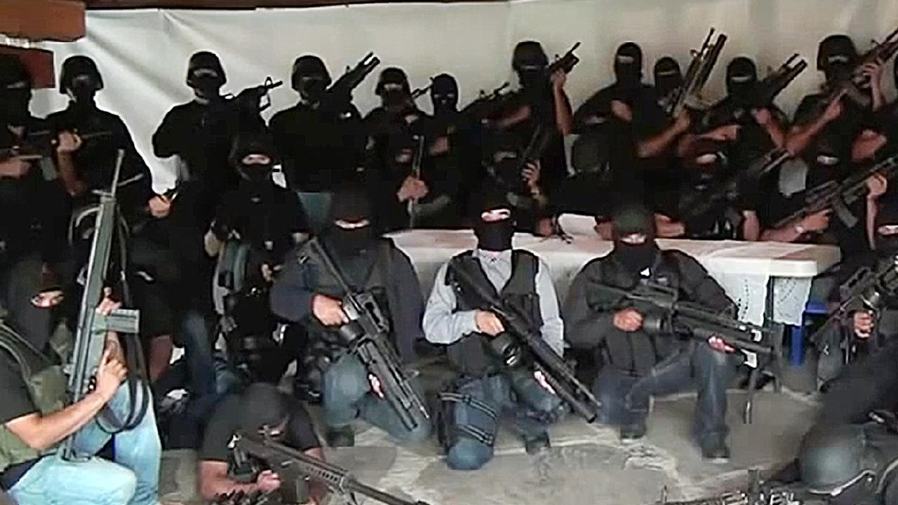 The Cartel Jalisco Nueva Generacion has Australia as a top target for it's drug trafficking operations. Picture: Supplied