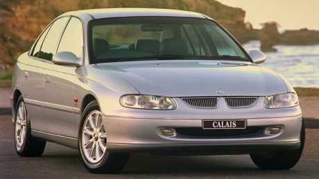The Holden Commodore VT was praised for its sleek design at a time when the Ford Falcon had polarising styling. Picture: Supplied.