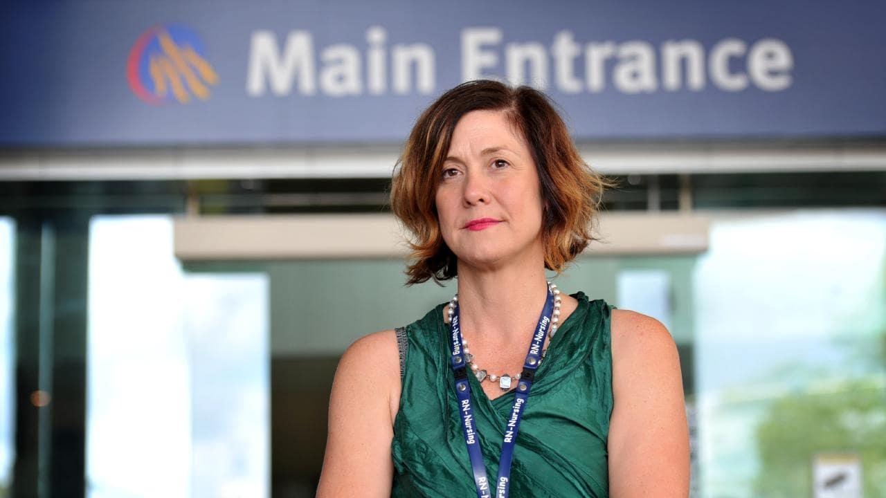 NPAQ Townsville branch secretary Kirsten McAllister.