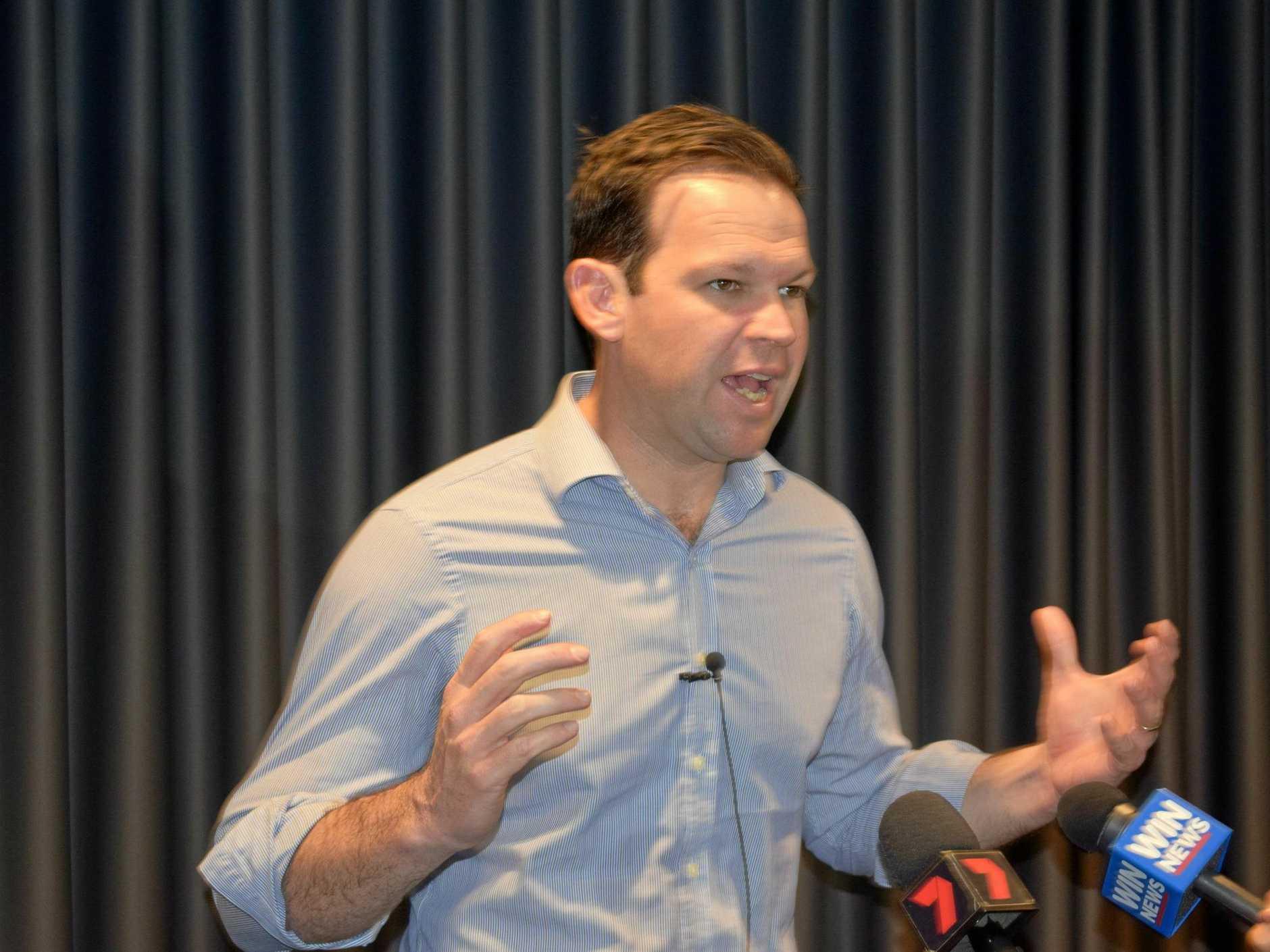 TALKING MINING: Senator Matt Canavan.