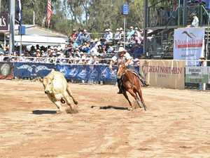 Two close campdrafting finals feature of Saturday action
