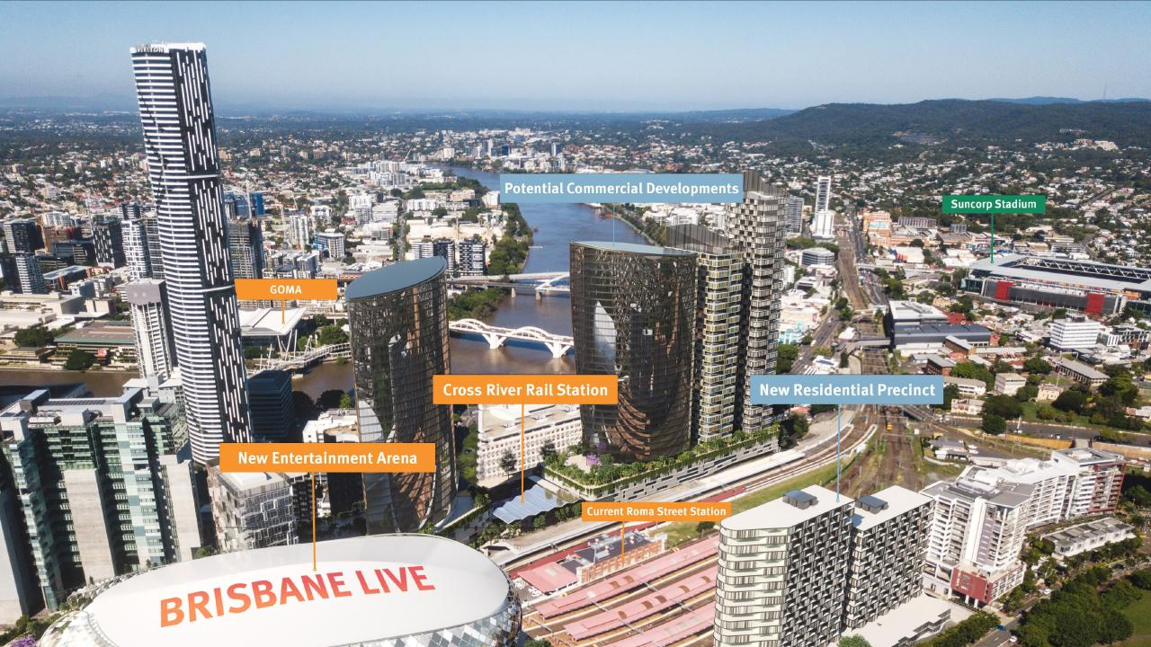 Next generation projects like Brisbane's Cross River Rail will help solve southeast Queensland's commuting dramas.
