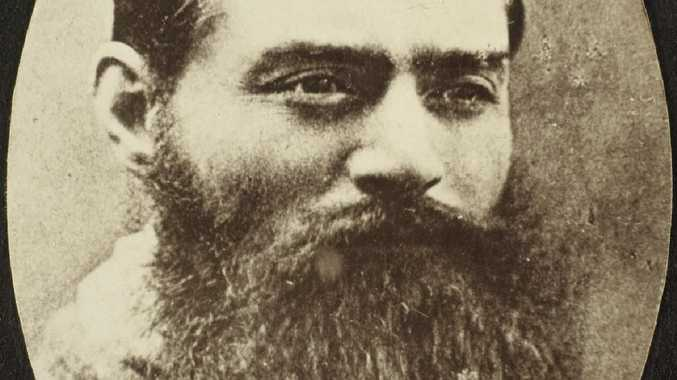 Ned Kelly's portrait, the day before he was hanged. His story is now part of Australian legend, but the family of one of the victims want to set the record straight. Picture: State Library of Victoria