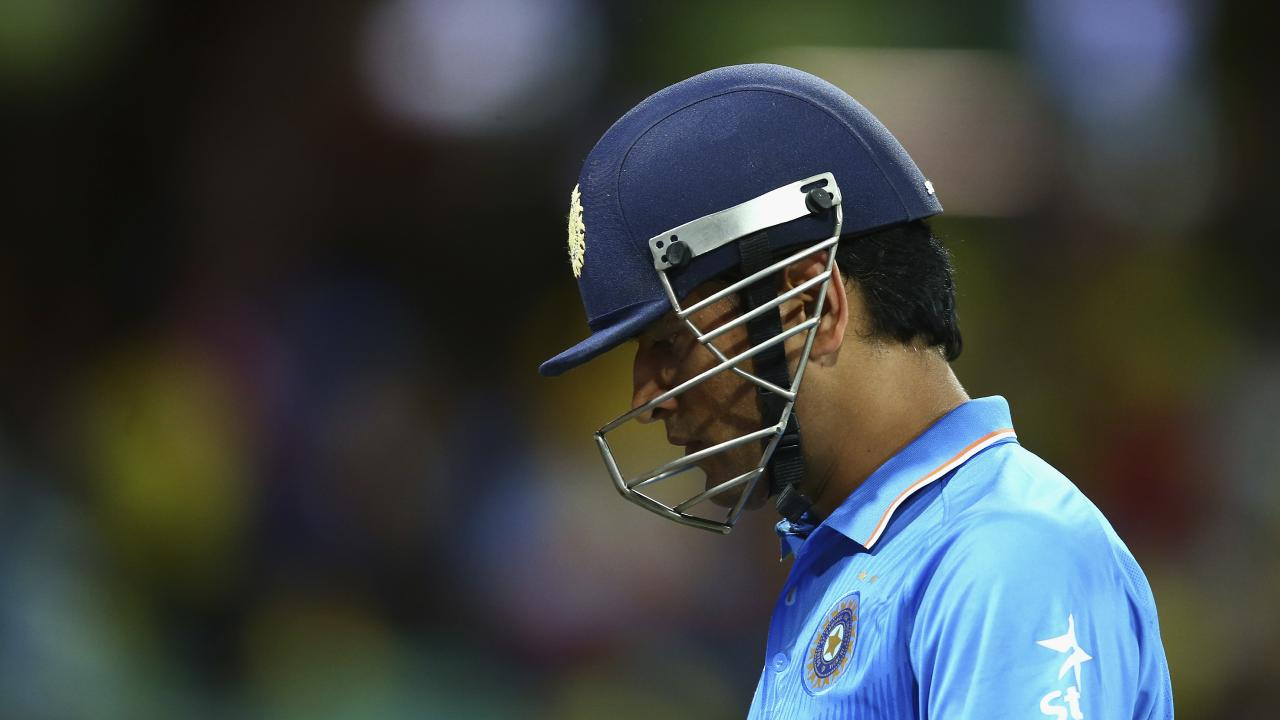Australia may have seen Indian captain MS Dhoni in action for the last time.