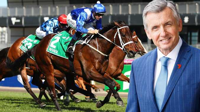 Bruce McAvaney has special feelings for Winx.