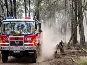 Bushfire warning for area south of Ipswich