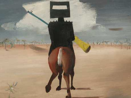 Ned Kelly's legend has grown over the years, including in the Sidney Nolan series.