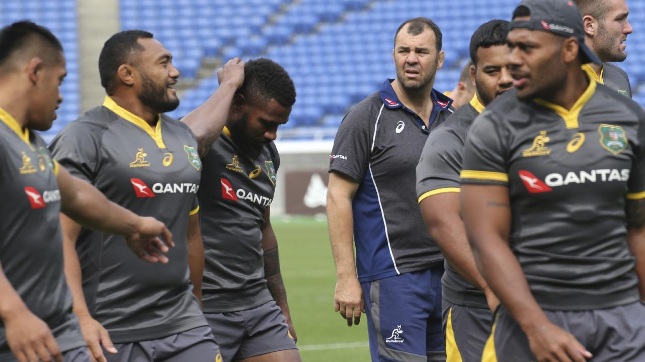 The Wallabies have lost seven of 10 Tests this year. Picture: AP