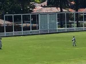 Warner walks off after cricketer's sledge