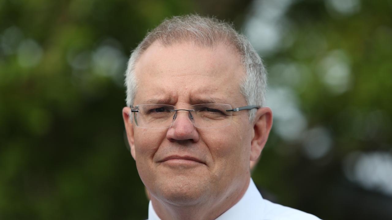 PM Scott Morrison. Picture Kym
