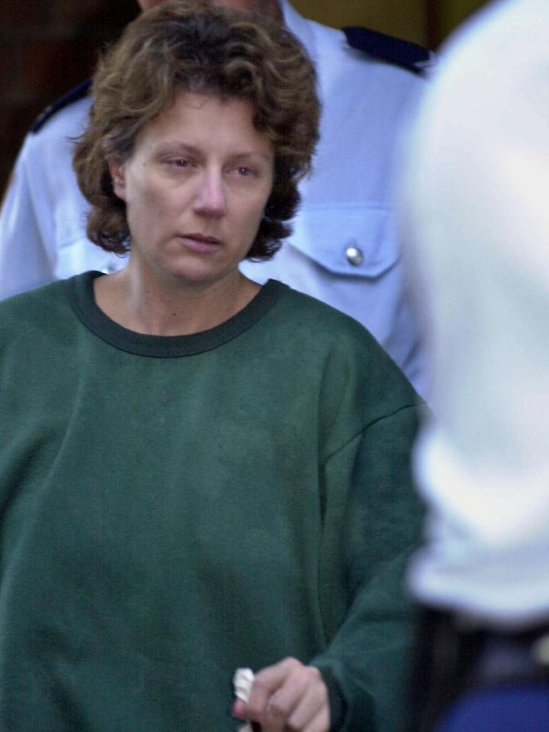 Kathleen Folbigg outside court in 2001.