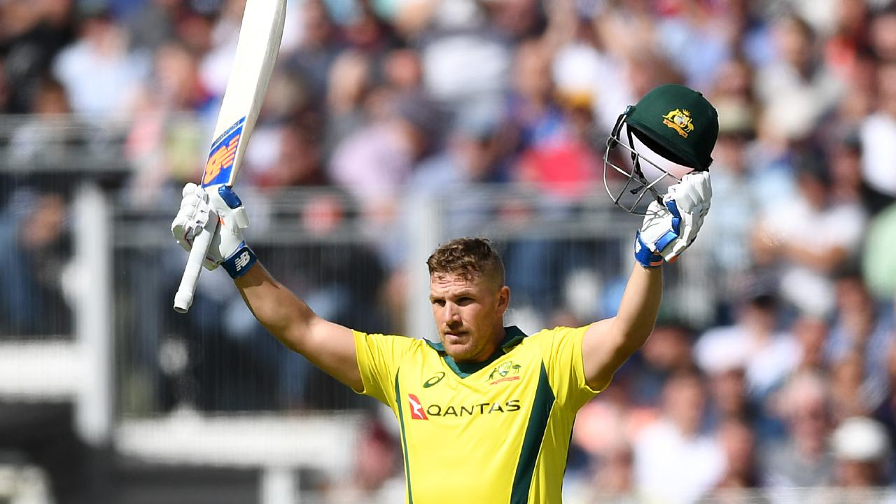 Aaron Finch has been named Australia's ODI captain. Picture: Getty