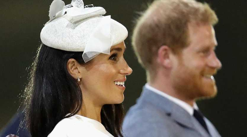 The Duke and Duchess of Sussex will play big roles in a slimmed down version of the monarchy. Picture: Chris Jackson/Getty