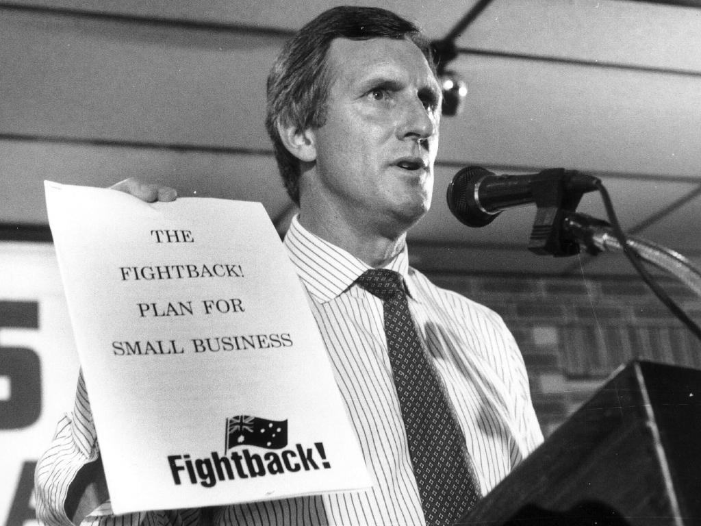 John Hewson couldn't convince Australians to change their tax structure in 1993, but by the end of the decade we had a GST anyway.