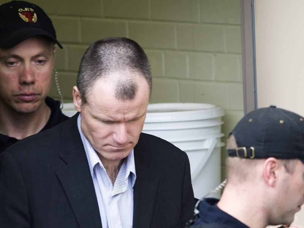 Colonel Russell Williams pictured here leaving court. Picture: Nathan Denette