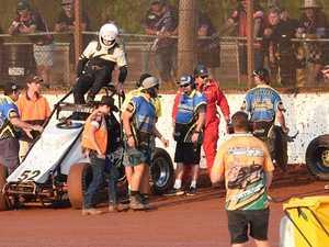 Maryborough Speedway Rollover