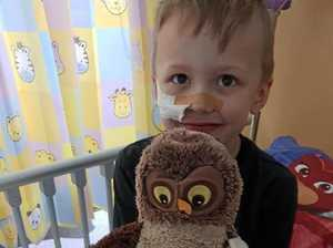 Mum's plea to help sick son: 'I'm scared'