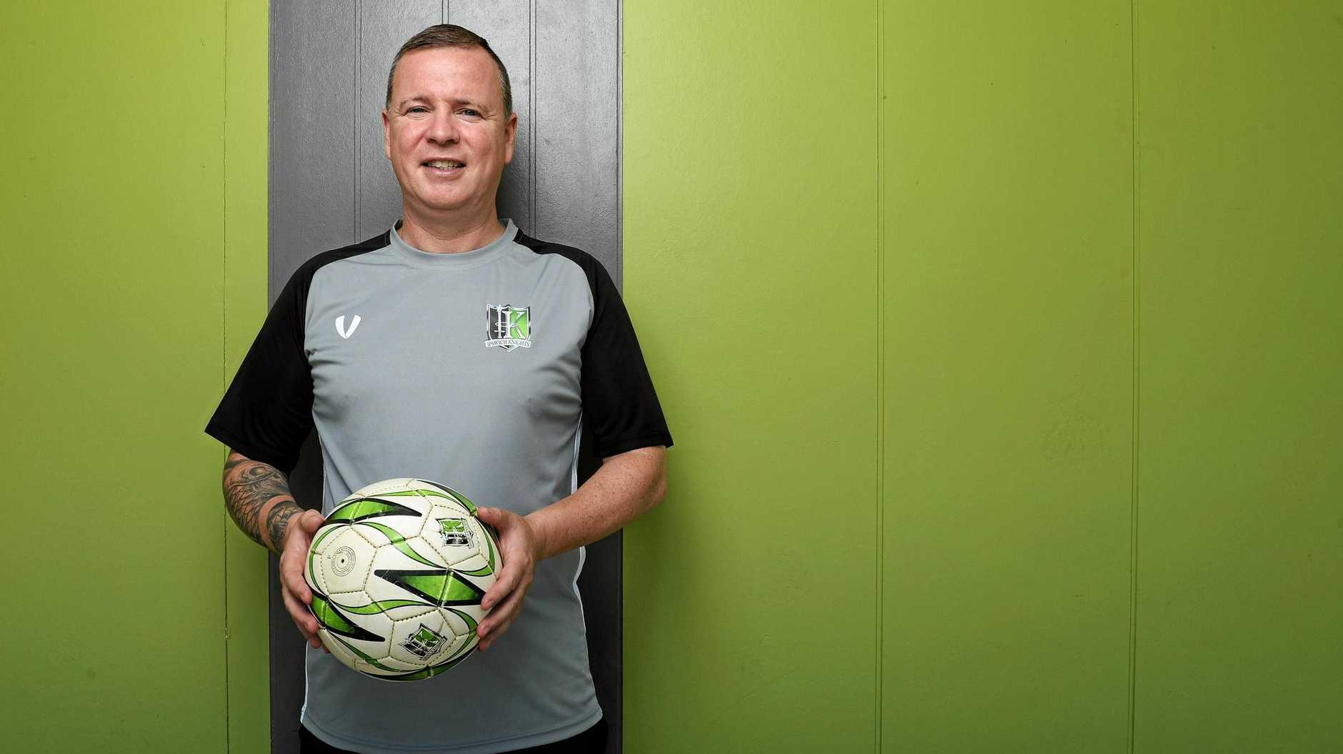 Ipswich Knights new technical director Jason Buchanan.