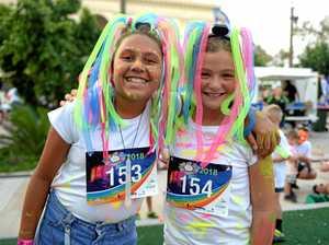 GALLERY: Rocky riverbank coloured fluro in fun run