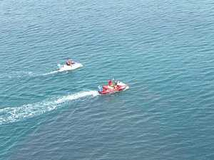 Person hospitalised after being hit by jet ski