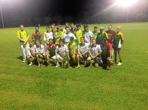 Some funny cricket in only under-lights clash of season