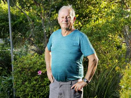 Lyal Turvey of Ipswich is still waiting for his pension application to go through. Picture: AAP/Josh Woning