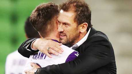 Tony Popovic was delighted with Glory's win. Picture: Getty Images