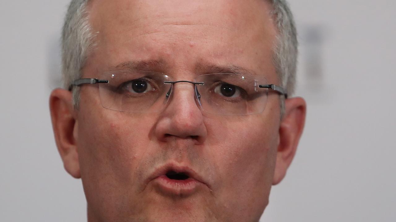 Prime Minister Scott Morrison. Picture: Kym Smith