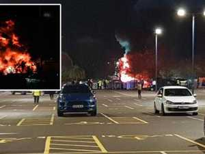 'Huge fireball': EPL club owner's helicopter crashes
