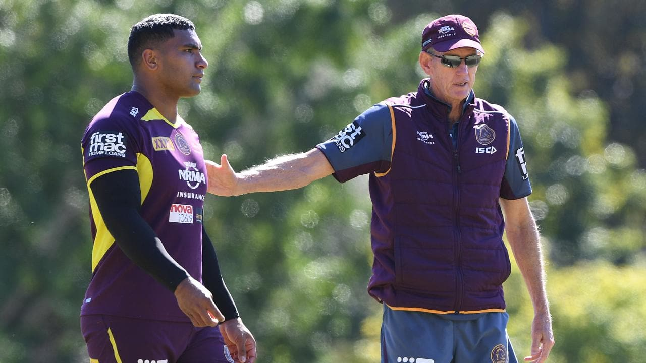 Wayne Bennett could help lure Tevita Pangai Jr to the Rabbitohs. Picture: AAP