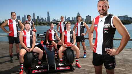 Is it time for St Kilda to replace Jarryn Geary in the drivers seat? Picture: Michael Klein