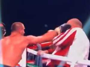 Boxer violently snaps after losing fight