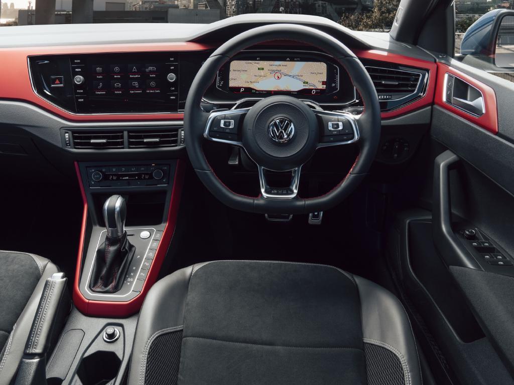 Polo GTI cockpit: Smartly furnished but options packs make it even slicker