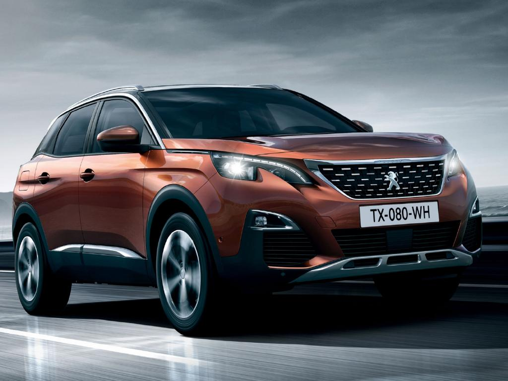 Supplied Cars Peugeot 3008