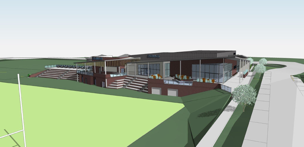 Artist's impression of a new auditorium at St Mary's College.
