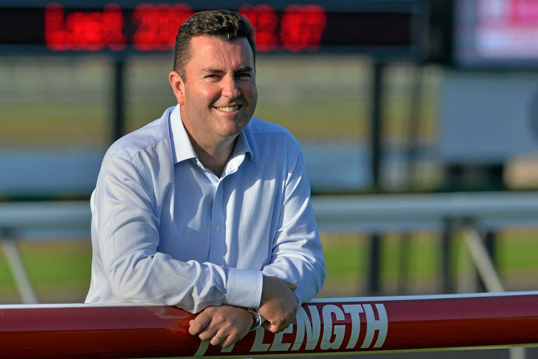 Sunshine Coast Turf Club CEO John Miller.