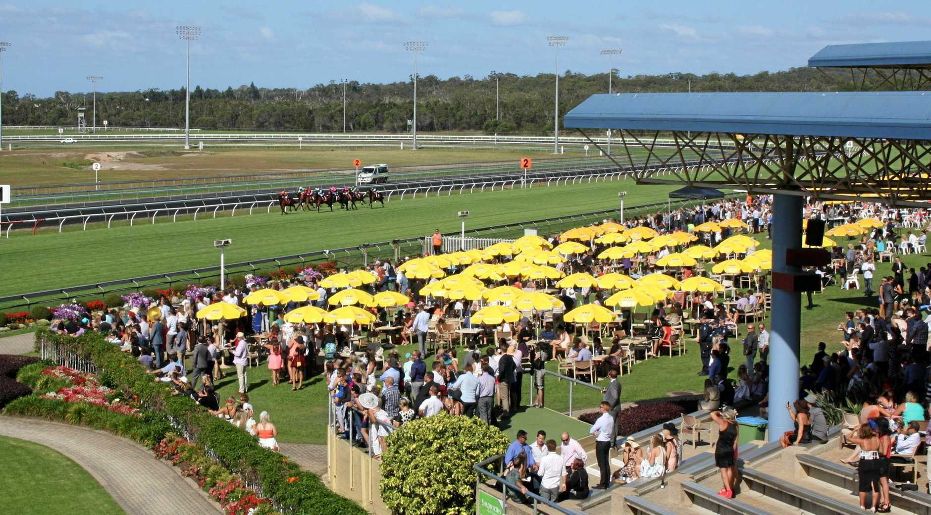 Corbould Park on Melbourne Cup Day