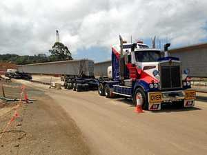 Expect delays as police escort 50m long trucks