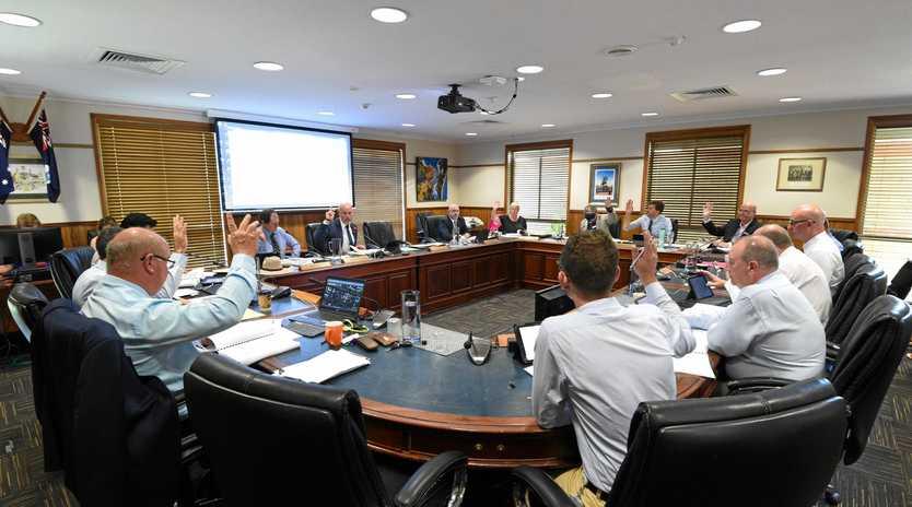 Fraser Coast Regional Council meeting.