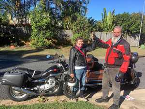 Cruising through life: Granny rides motorcycle around Aus