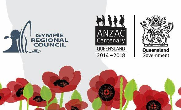 Red for Remembrance will take place from 4.30pm-9pm on Saturday, November 10 at Memorial Park, River Road, Gympie.