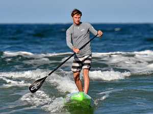 Conditions pose mighty test for Coast paddler