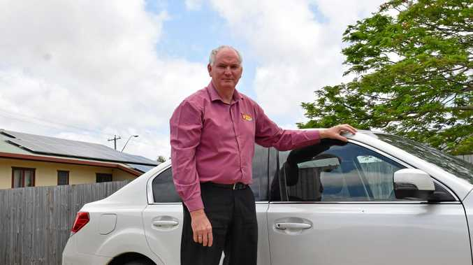SAFE PASSAGE: Noel Lang is encouraging smart choices in young drivers