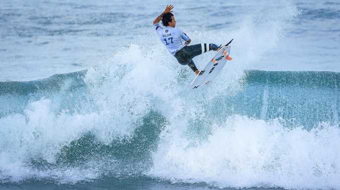 IN SECOND PLACE: Julian Wilson, pictured at Portugal.