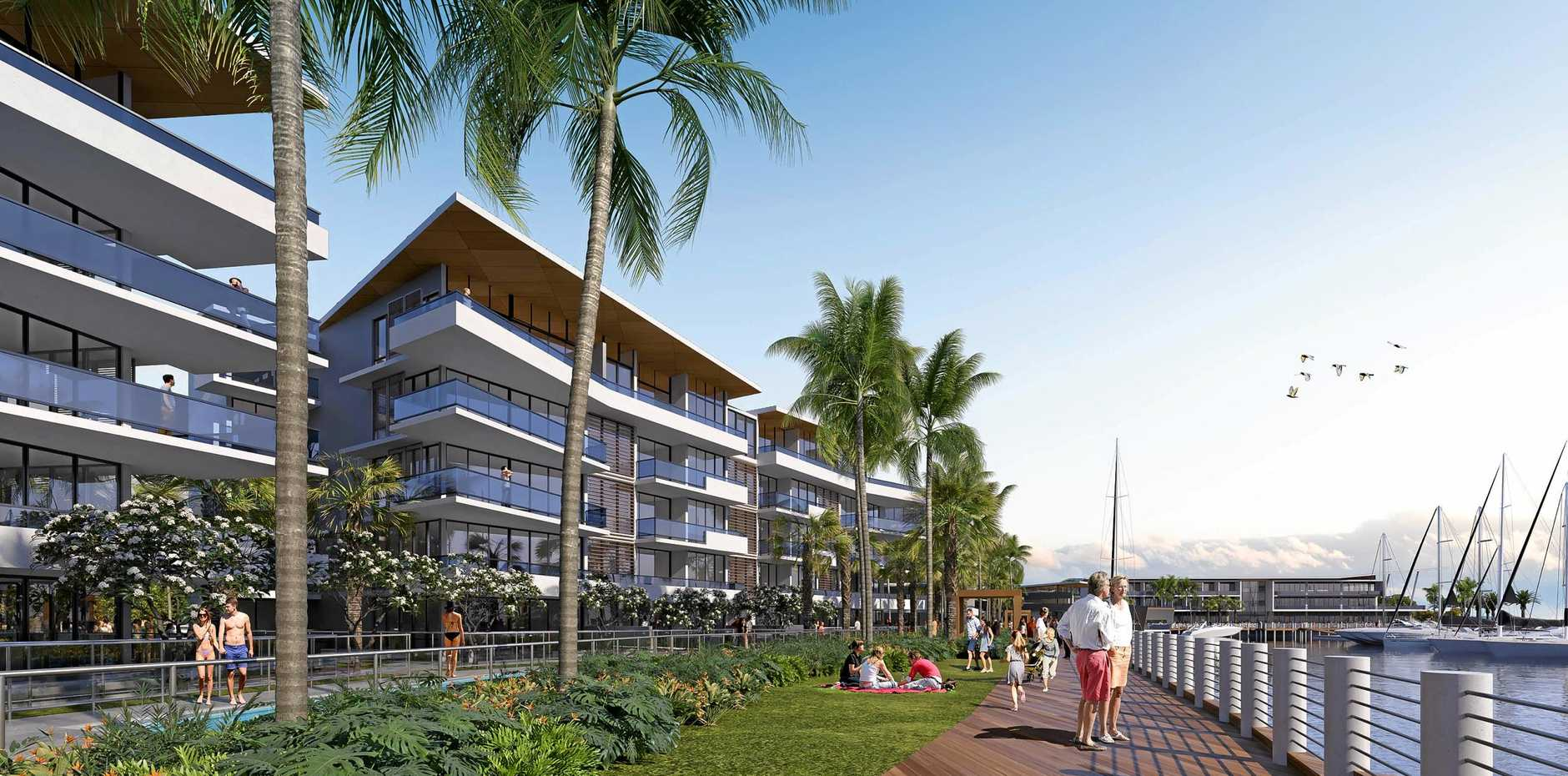 DEVELOPMENT PLANNED: Sydney based BH Developments QLD Pty Ltd (BHD) has officially lodged a development application with Bundaberg Regional Council for a integrated marina and resort project, set to transform the coastal town of Burnett Heads into a vibrant tourism, lifestyle and leisure precinct.
