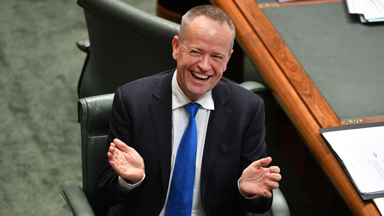I'm afraid a Shorten government will look like a self-serving union collective. Picture: AAP Image/Mick Tsikas