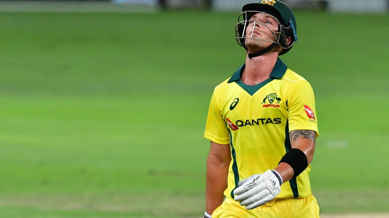 Ben McDermott has now been run out in three of four innings for Australia.