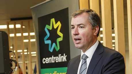 Human Services Minister Michael Keenan says Centrelink will be adding 2750 staff. Picture: Valeriu Campan